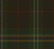 00325 Downs Tartan  Sticker