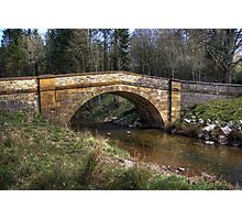 Hawnby Bridge - North Yorkshire Photographic Print