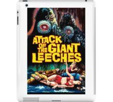 Attack Of The Giant Leeches Horror Design  iPad Case/Skin