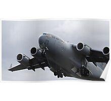 USAF Boeing C17A Globemaster Poster