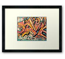 """DROME by Efrain """"Eskwilax"""" Martinez Framed Print"""