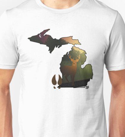 Michimug- White Tailed Deer Unisex T-Shirt