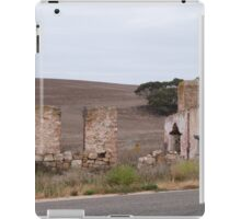 A Mansion of Yesteryear! Pioneer dwelling near Purnong, Sth. Aust. iPad Case/Skin