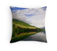 Fjord Reflections Throw Pillow