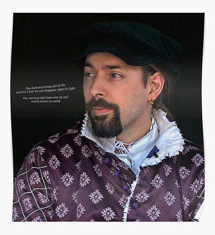 Medieval Man Poster