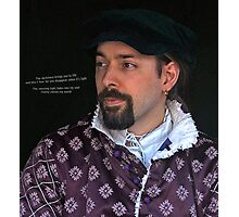 Medieval Man Photographic Print