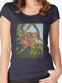 Afternoon Blossoms Women's Fitted Scoop T-Shirt