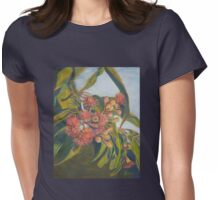 Afternoon Blossoms Womens Fitted T-Shirt