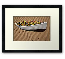 Flowers I Bring Thee Framed Print