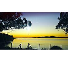 Sunset @ Dickies Beach Photographic Print