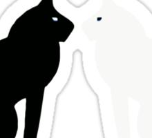 Black Cat, White Cat - Movie Sticker