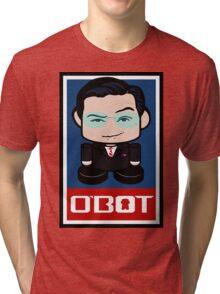 Colbert Politico'bot Toy Robot 2.0 Tri-blend T-Shirt
