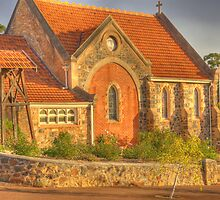 St Paul's Church, Bridgetown, Western Australia by Elaine Teague