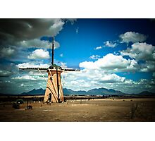 The Lily (Dutch Windmill) and Stirling Ranges Photographic Print