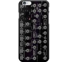 Awesome Synth - Cool Transparency effect - Electronic Music DJ iPhone Case/Skin