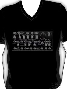 Awesome Synth - Cool Transparency effect - Electronic Music DJ T-Shirt