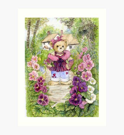 Tweeny Teddy #2 Art Print