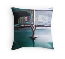 window on cuba Throw Pillow