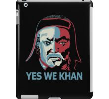 Yes We Khan iPad Case/Skin