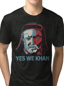 Yes We Khan Tri-blend T-Shirt