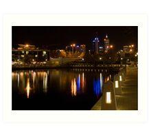 Overlooking Perth Art Print