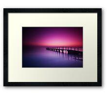Quindalup Dawn II Framed Print