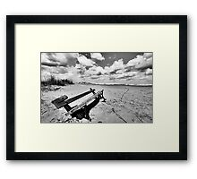 Is that story over? .. Framed Print