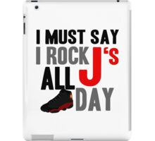 Rock JS All Day Bred13 iPad Case/Skin