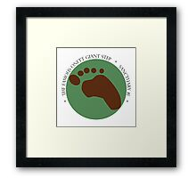 Giant Step Logo Framed Print