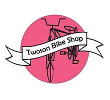 Twoson Bike Shop Logo by Brianna Reeves