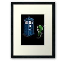 Ocarina of Time Travel Framed Print