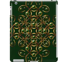 Golden tangle iPad Case/Skin