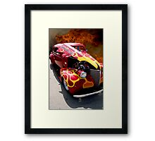 Flame Job Framed Print
