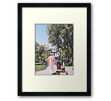 Bert In Disneyland  Framed Print