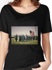 On the Field of Battle Women's Relaxed Fit T-Shirt