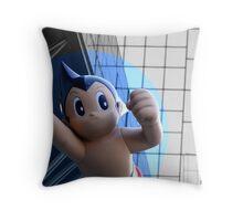 Astro Boy/ Atom Man -brave, gentle, wise Throw Pillow