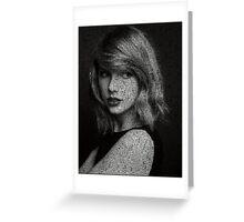 Taylor Swift Lyrics Greeting Card