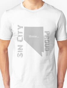 Nevada ( Sin City) Proud Home Tee T-Shirt