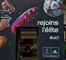 Adidas Paris Signage by phil decocco