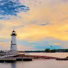 Rock Island Lighthouse by Joseph T. Meirose IV