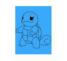 Squirtle! [#7] Art Print