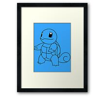 Squirtle! [#7] Framed Print