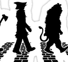 Wizard Of OZ Abbey Brick Road Sticker
