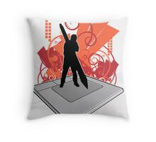 Graphics Tablet Throw Pillow