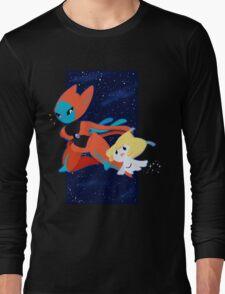 Pokemon - Jirachi and Deoxys Long Sleeve T-Shirt