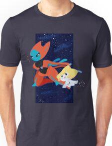 Pokemon - Jirachi and Deoxys Unisex T-Shirt