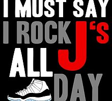 Rock JS All Day Cords by tee4daily