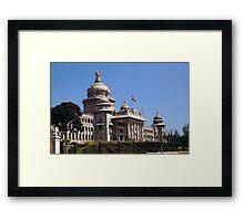 Vidhana Soudha, Bangaluru Framed Print