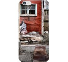 Back Alley in the Old Part of Town iPhone Case/Skin