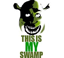 This is MY Swamp Poster Photographic Print